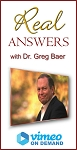 Real Answers with Dr. Greg Baer - Streaming on Vimeo